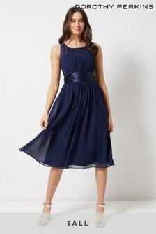 Dorothy Perkins Tall Bridesmaid Midi Dress