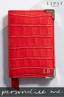 Personalised Mock Croc Leather Passport Cover By Koko Blossom