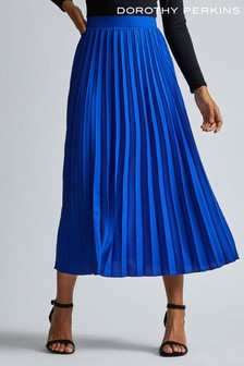 Dorothy Perkins Tall Pleated Midi Skirt