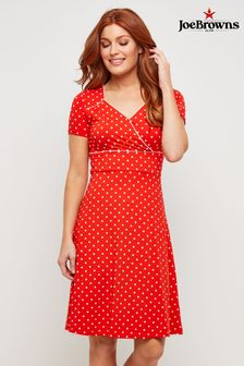 Joe Browns Polka Dot Jersey Dress