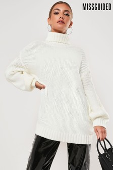 Missguided Roll Neck Jumper