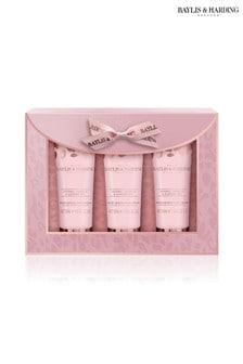 Baylis & Harding Jojoba, Vanilla & Almond Oil 3 Hand Cream Set