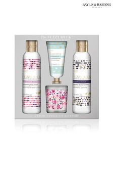 Baylis & Harding Fuzzy Duck Cotswold Floral Candle Set