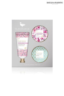 Baylis & Harding Fuzzy Duck Cotswold Floral 3 Piece Set