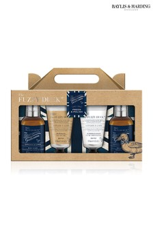 Baylis & Harding Fuzzy Duck Men's Ginger & Lime 4 Piece Set