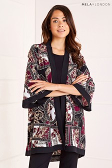 Mela London Abstract Print Kimono