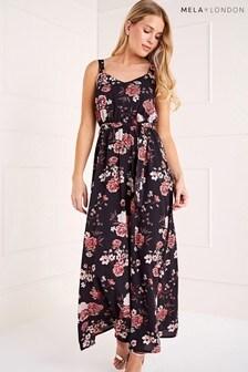 Mela London Flower Blossom Maxi Dress