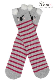 Boux Avenue Koala Stripe Cosy Socks