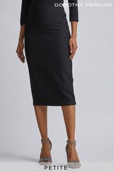 Dorothy Perkins Petite Textured Pencil Skirt