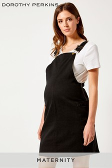 Dorothy Perkins Maternity Denim Pinafore Dress