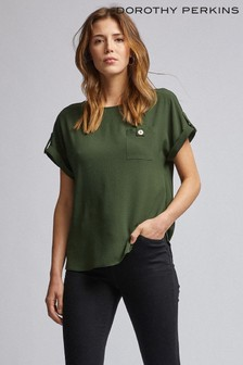 Dorothy Perkins Button Pocket Tee