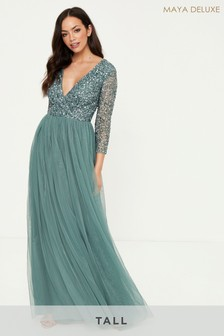 Maya Tall Embellished Maxi Dress