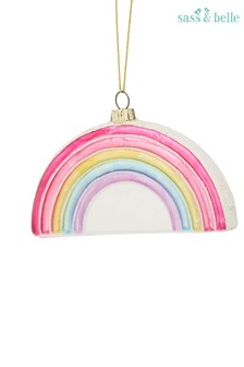 Sass & Belle Rainbow Christmas Bauble
