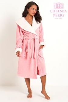 Розовый халат Chelsea Peers