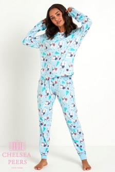 Chelsea Peers Long PJ Set