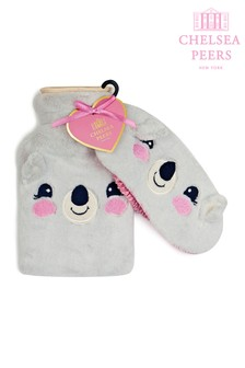 Chelsea Peers Fluffy Koala Hot Water Bottle And Eye Mask