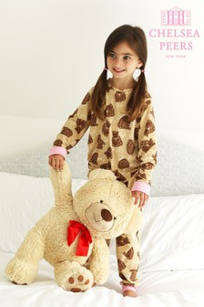 Chelsea Peers Mini Me Girls Bear PJ Set