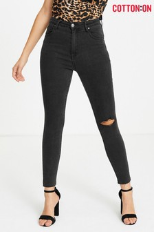 Cotton On Mid Rise Skinny Jeans