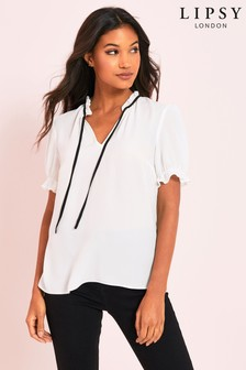 Lipsy Puff Sleeve Top
