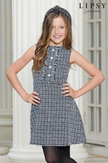Lipsy Girl Boucle Dress