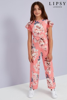 Lipsy Frill Sleeve Jumpsuit