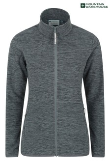 Mountain Warehouse Snowdon Melange Womens Full-Zip Fleece