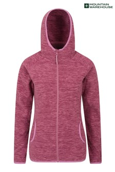 Mountain Warehouse Lleyn Melange Womens Full Zip Fleece