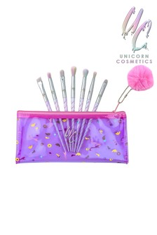 Unicorn Cosmetics Class Of 86' 7 Piece Eye Makeup Brush Kit