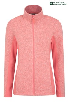 Mountain Warehouse Idris Womens Panelled Full-Zip Fleece