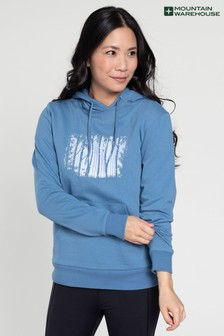 Mountain Warehouse Forest Tree Printed Womens Hoodie
