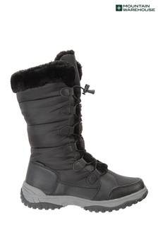 Mountain Warehouse Snowflake Womens Long Snow Boots