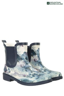 Mountain Warehouse Winter Printed Rubber Womens Ankle Wellie