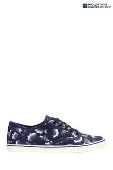 Mountain Warehouse Printed Canvas Womens Plimsolls