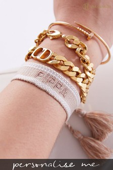 Personalised Woven Bracelet By HA Design
