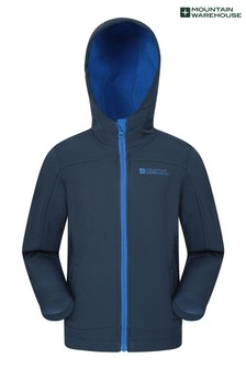 Mountain Warehouse Exodus Kids Water Resistant Softshell