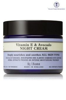Neals Yard Remedies Vitamin E & Avocado Night Cream 50g