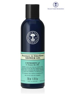 Neals Yard Remedies Rosemary and Elderflower Shower Gel 200ml
