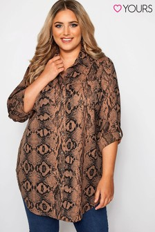 Yours Curve Boyfriend Shirt