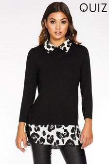 Quiz Leopard Print Shirt