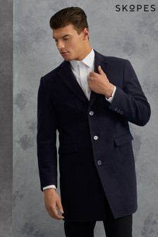 Skopes Single Breasted Overcoat