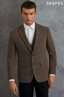Skopes Gisburn Herringbone Tweed Blazer