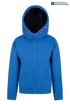 Mountain Warehouse Nordic Kids Fur Lined Full-Zip Hoodie