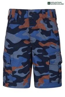 Mountain Warehouse Camo Kids Cargo Shorts