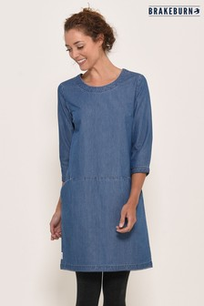 Brakeburn Denim Shift Dress
