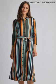 Dorothy Perkins Stripe Shirt Dress
