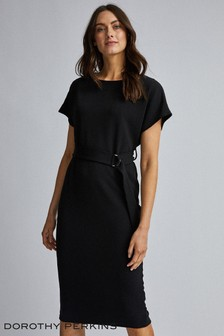 Dorothy Perkins D-Ring Midi Dress