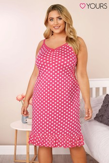 Yours Curve Spot Chemise