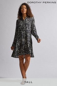 Dorothy Perkins Tall Abstract Print Dress