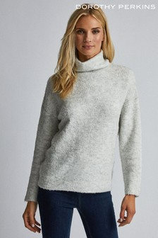 Dorothy Perkins Boucle Roll Neck