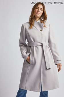 Dorothy Perkins Wrap Button Coat